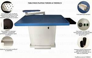Table À Repasser Soufflante : table repasser rectangulaire professionnelle port offert ~ Dode.kayakingforconservation.com Idées de Décoration