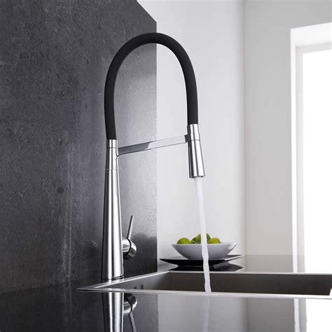 robinet industriel cuisine mitigeur cuisine noir douchette 115 hudson reed