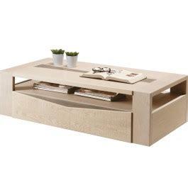 table bout de canapé design table basse plateau chêne blanchi et chêne gris 1