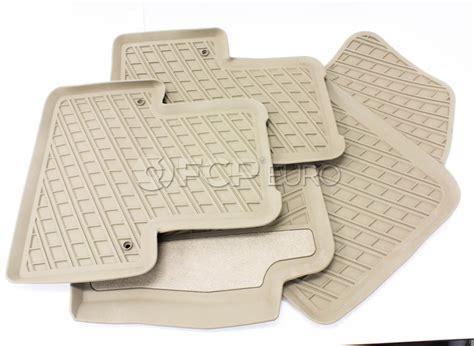 floor mats xc90 volvo rubber floor mat set brown xc90 genuine volvo 31307314 fcp euro