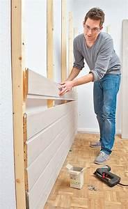 Wandverkleidung Aus Holz Wandverkleidung Selbstde