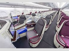 Flying business class in Qatar Airways' Airbus A380 from
