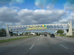 Daytona Beach Florida Welcome Sign