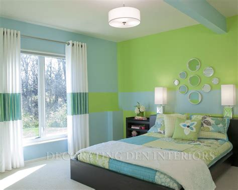 green bedroom ideas clever use of paint creates room s design bedroom ideas