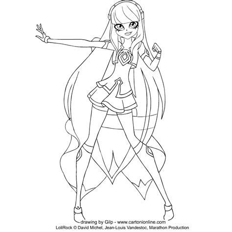 Coloriage lolirock dessin à imprimer coloriage carissa lolirock princesse coloriage lolirock iris princess of ephedia coloring page Lolirock Da Colorare - Disegni da colorare gratuiti