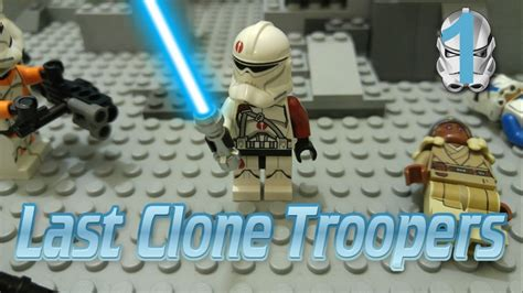 Lego Star Wars The Legend Of The Last Clone Troopers