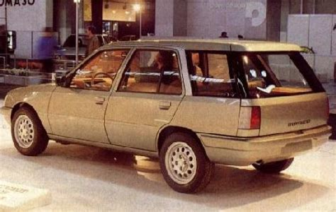 Peugeot 205 Break By Pininfarina (1984) - Picture Gallery ...