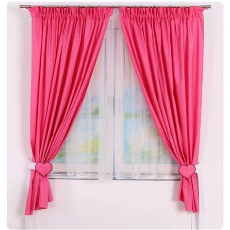 rideau pour chambre fille rideaux de chambre bébé fille framboise achat