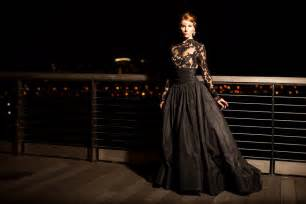 black gowns for wedding sleeve black wedding dresses with sophisticated style bloghotel org