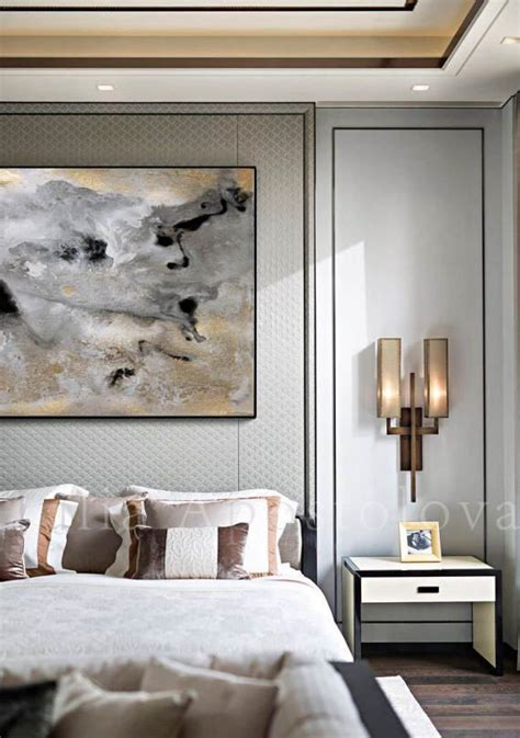 rectangle wall art gold leaf print large abstract canvas