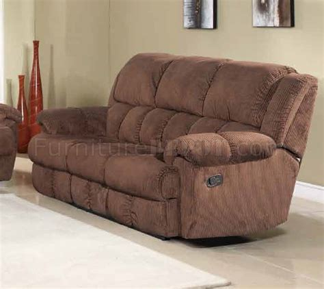 brown fabric recliner sofa hunter reclining sofa in brown fabric w optional items
