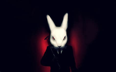 Misfits Bunny HD Wallpaper | Background Image | 3456x2160 ...
