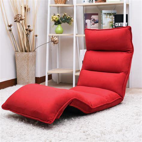 Lazy Sofa by Merax Upholstered Lazy Sofa Floor Sofa Chair Folding Sofa