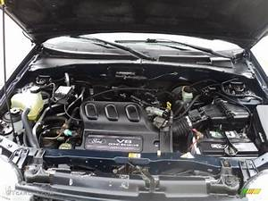 2002 Ford Escape Xls V6 Engine Photos