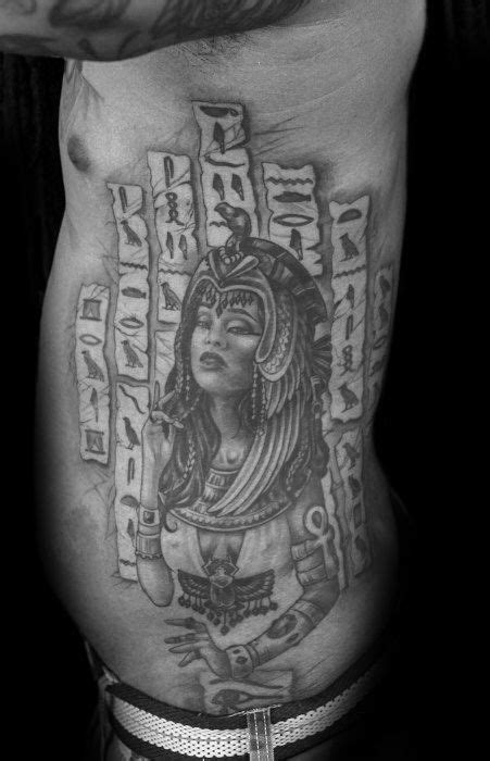 30 Hieroglyphics Tattoo Designs For Men - Ancient Egyptian Ink Ideas | Hieroglyphics tattoo