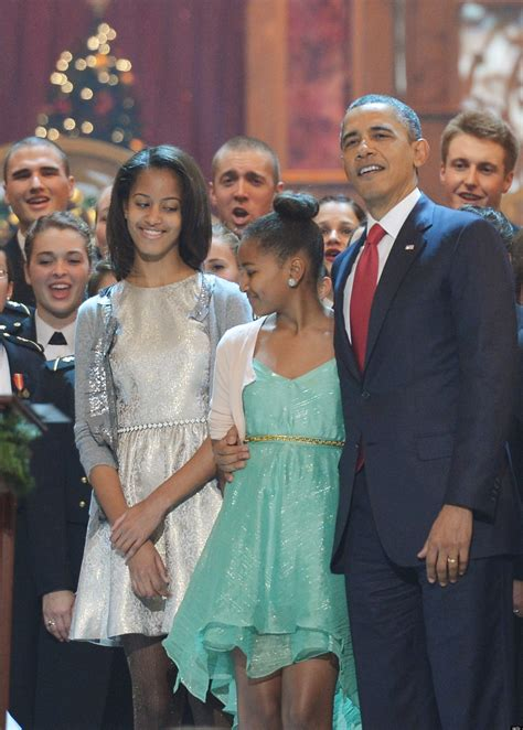 Malia & Sasha Obama Shine At 'christmas In Washington