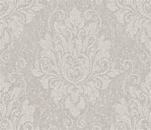 tapetenshop online 10 tapeten rasch textil barocke With balkon teppich mit florale tapete