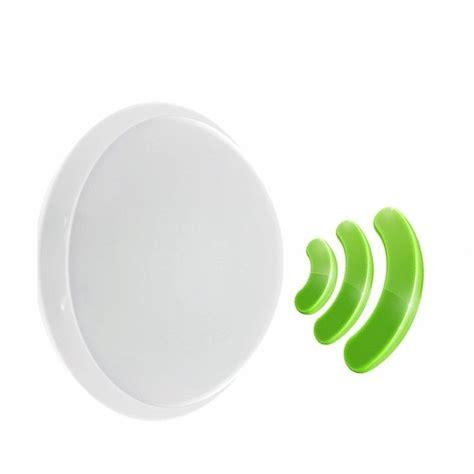 costo e27 hf hublot blanc polycarbonate ip44 ik10 avec detecteur de mouvement int 233 gr 233 et