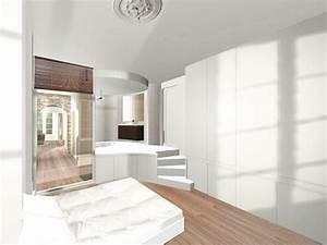 3d salle de bain surelevee renovation appartement a lyon With la salle de bains lyon