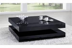 Table De Salon Moderne : table basse salon design ~ Preciouscoupons.com Idées de Décoration