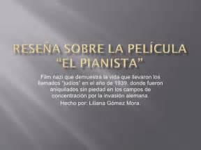 The Pianist Resumen De La Pelicula by El Pianista Resumen De La Pelcula El Pianista The