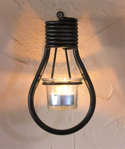 wall mounted tea light holder bulbs 19 cm tealight holder