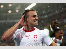 Switzerland scorers Xhaka, Shaqiri make Albanian