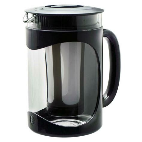 Now, the awesome thing about drip coffee makers is that they vary over several brands and designs that have many different features. PRIMULA BURKE CARAFE Cold Brew Iced Coffee Maker 1.6qt 1.5L PBPBK-5101 Drip Espresso Barista ...