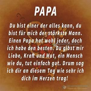 Danke Papa Text : papa du bist einer der alles kann spr chewelt valentinsspr che spr che ~ Watch28wear.com Haus und Dekorationen