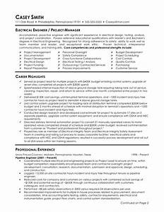 download resume templates for freshers http www With sample resume for electrical engineer in construction field