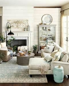 deco style rustique With tapis oriental avec rotin canapé