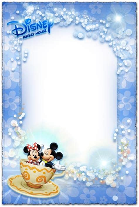 mickey mouse  minnie photo frame  kids