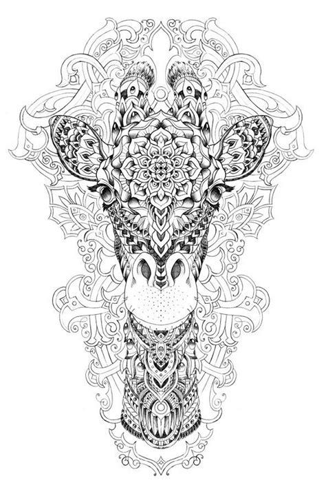 Inspiration en noir et blanc. (Giraffe on Behance) (https