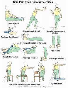 59 best stretches shin splints images on Pinterest ...