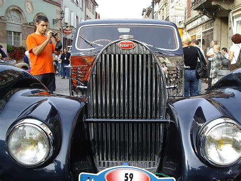 160bhp @ 5000rpmmated to a 4 speed manual transmission. Bugatti Type 57 Galibier 1939 Calandre   Festival Bugatti Mo…   Flickr