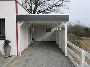 Carport An Hauswand : carports aus holz mit schieferblende von kiel bis hamburg ~ Orissabook.com Haus und Dekorationen