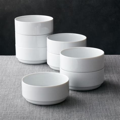 Logan Stacking Bowls, Set of 8   Reviews   Crate and Barrel