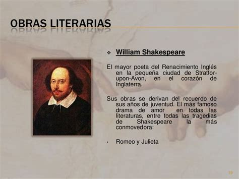 William Shakespeare Resumen De Obras by El Arte En El Renacimiento