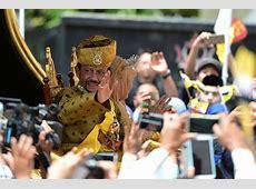 Sultan of bling Brunei monarch marks golden jubilee in