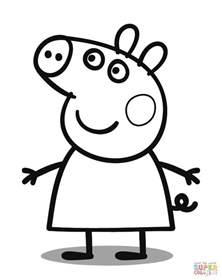 Nick Jr Pumpkin Stencils by Peppa Pig Coloring Page Free Printable Coloring Pages