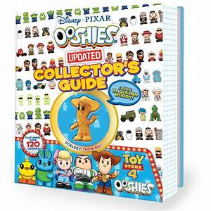 Ooshies Collector U0026 39 S Guide  Disney Pixar 2019 With Toy