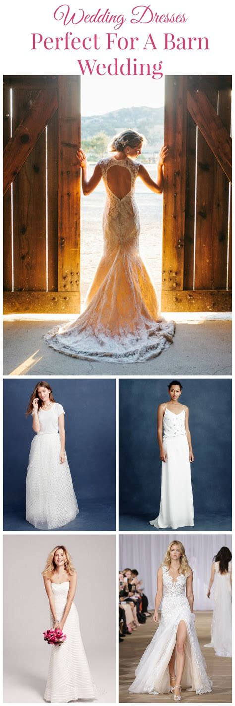 Barn Wedding Bridesmaid Dresses by 7 Wedding Dresses For A Barn Wedding Rustic