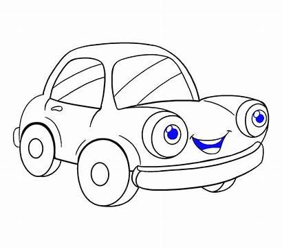 Easy Drawing Draw Cartoon Step Simple Drawings