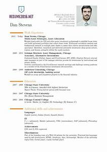 Latest resume format 2016 hot resume format trends for Latest resume templates free