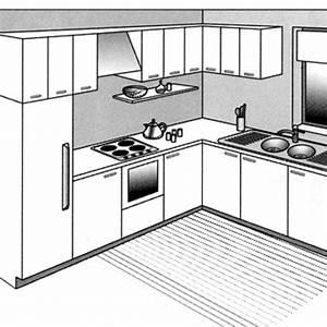 12 plans pour une cuisine ouverte cote maison With disposition cuisine en l