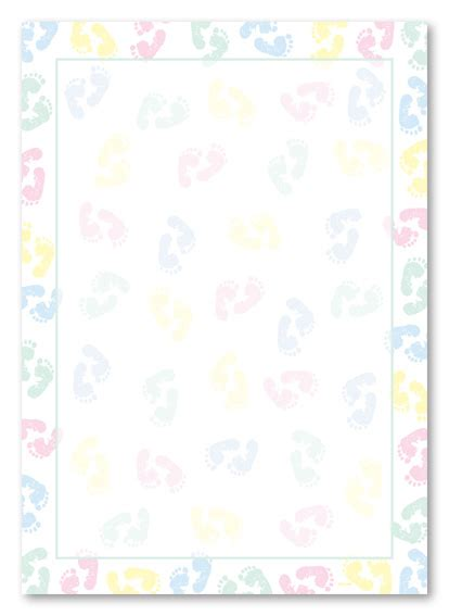 printable baby shower border paper printable  degree
