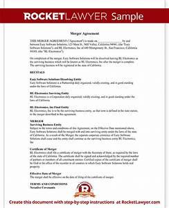 merger agreement form merger agreement template with With merger agreement template