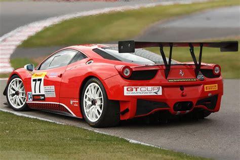 2011 Ferrari 458 Challenge Race Car