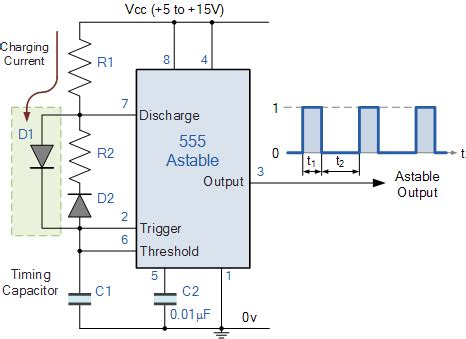 Timer Oscillator Circuit Electrical Engineering