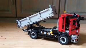Lego Technic Camion : lego technic camion benne youtube ~ Nature-et-papiers.com Idées de Décoration